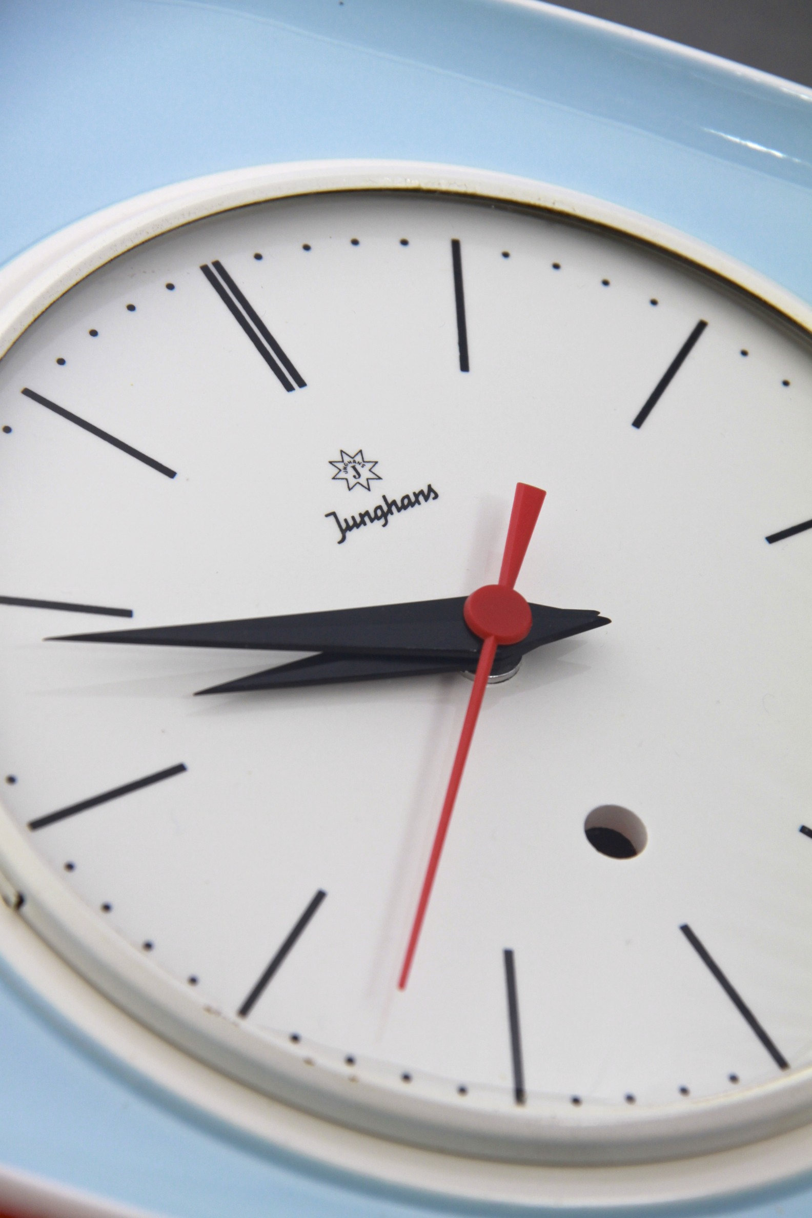 Junghans ceramic wall clock designed by max bill germany circa advertisements amipublicfo Images