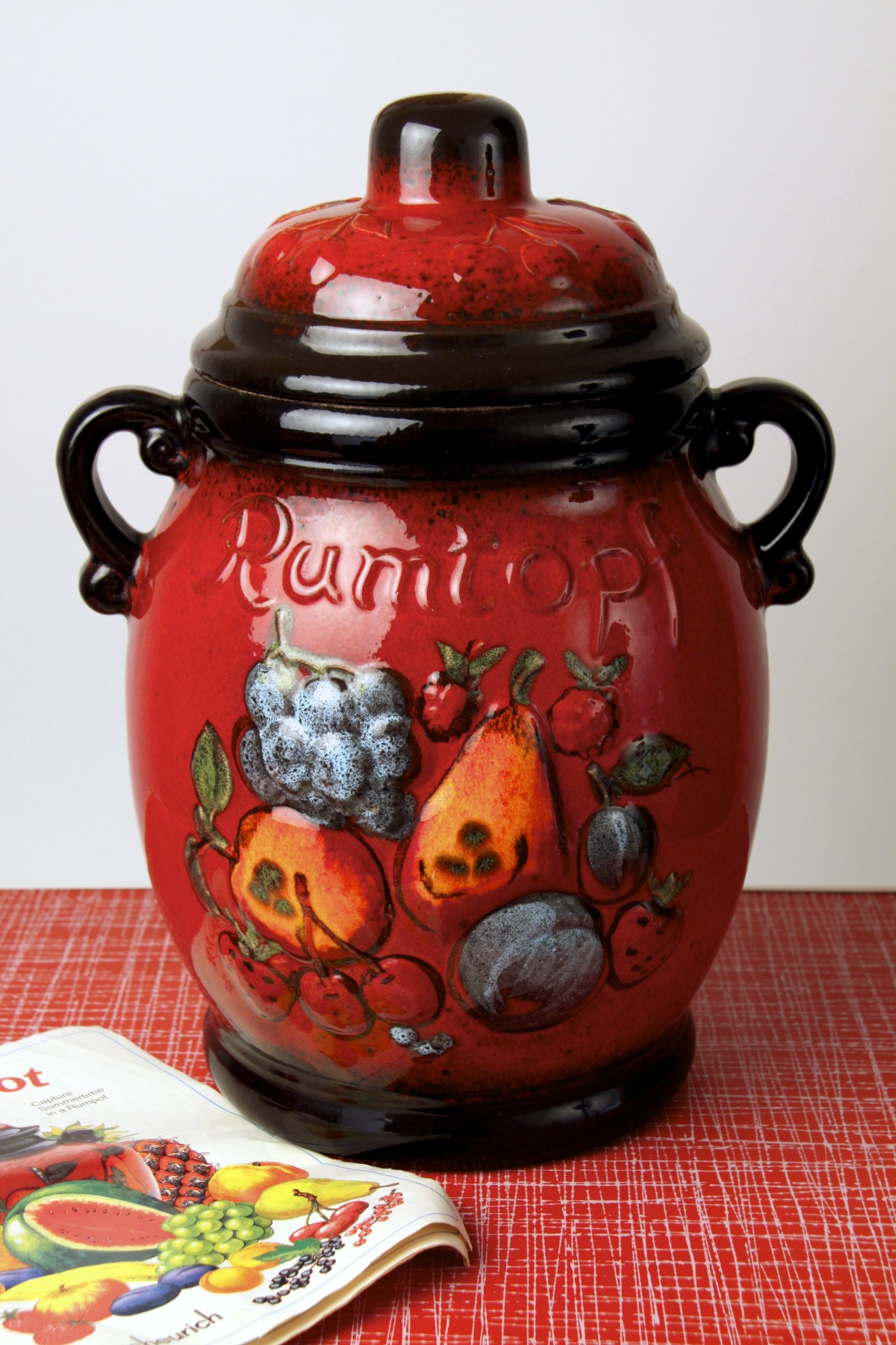 Scheurich Keramik 'Rumtopf' Rum pot / preserving jar, West ...