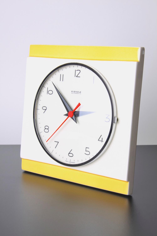 kienzle yellow clock