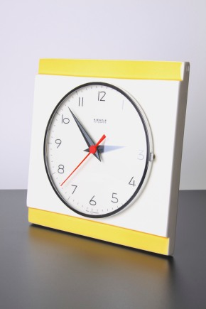 kienzle yellow clock